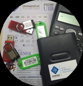Memòries USB i calculadores