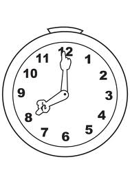 rellotge horari biblioteca